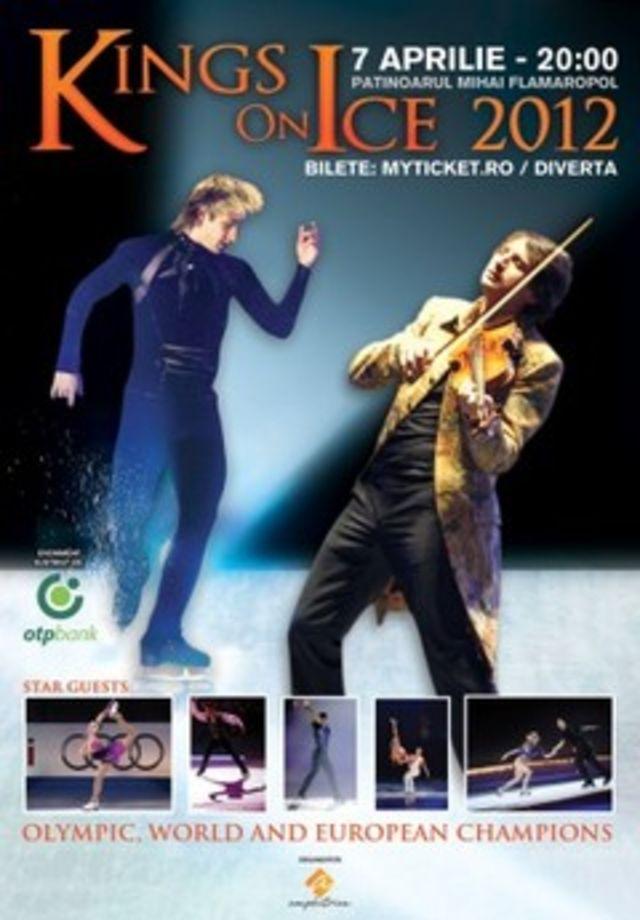 Spectacolul Kings On Ice revine in 2012 cu o noua distributie