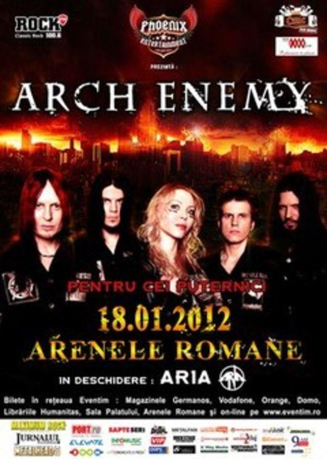 Reguli de acces la concertul Arch Enemy