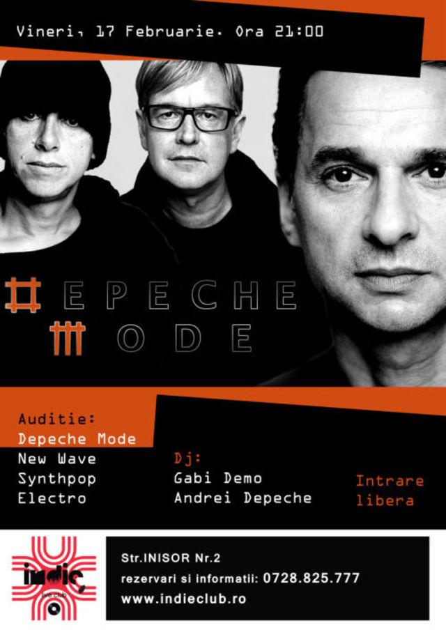 Prima petrecere Depeche Mode din 2012 in Indie Club
