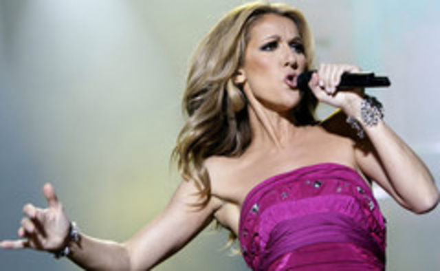 Celine Dion are probleme cu vocea