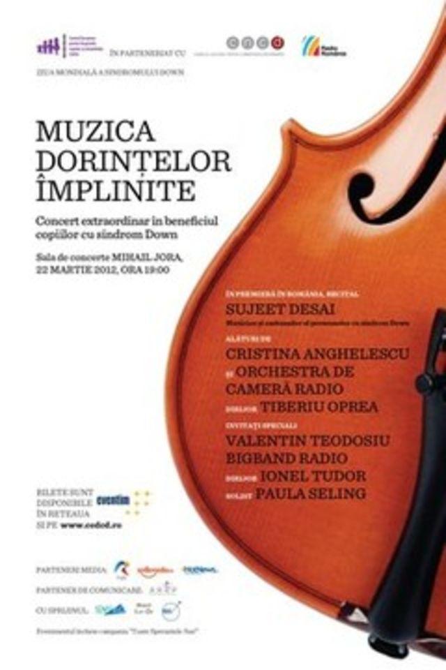 Concert Extraordinar in beneficiul copiilor cu Sindrom Down din Romania