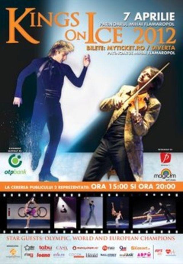 Evgeni Plushenko si Edvin Marton – vizita la Bucuresti, in avanpremiera show-ului Kings On Ice