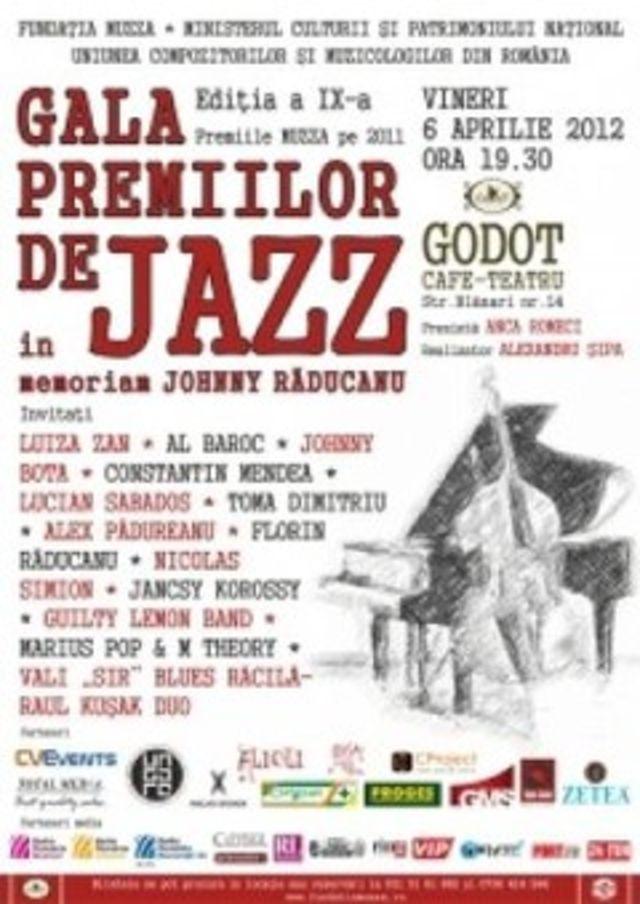 Gala Premiilor de Jazz - editia a IX-a la Godot Cafe-Teatru Bucuresti