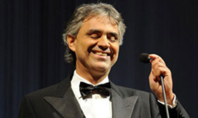 Andrea Bocelli, tata pentru a 3-a oara