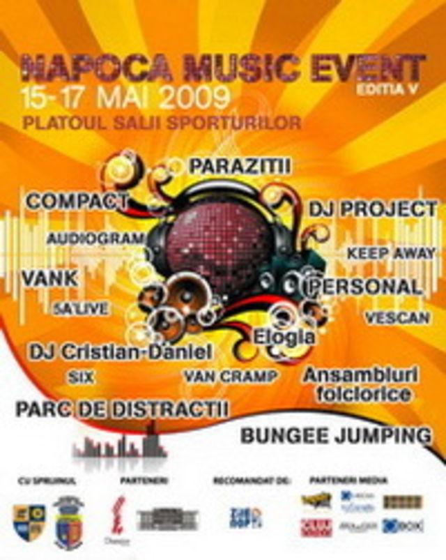 In weekend mergi la Napoca Music Event 2009