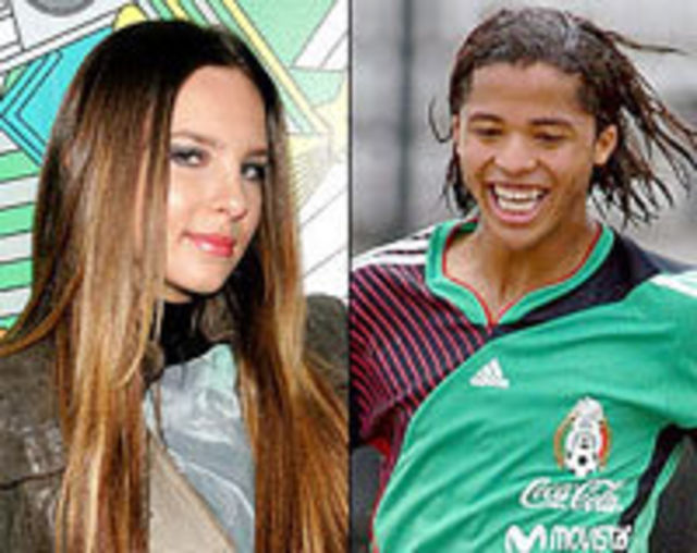 Belinda s-a logodit cu fotbalistul Giovanni Dos Santos