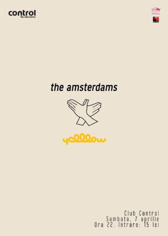 Concurs incheiat: castiga o invitatie dubla la concertul The Amsterdams si YellLow din Control