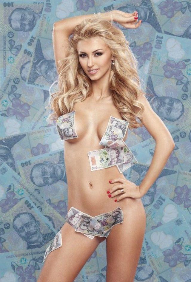 Andreea Balan nud