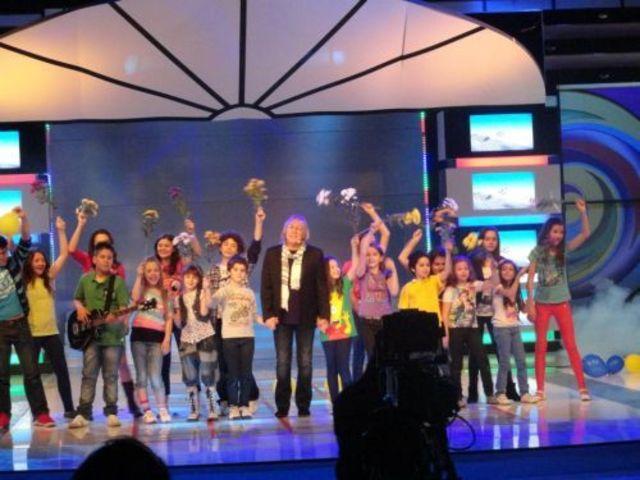 Mihai Constantinescu este invitatul special in noua editie Televiziunea Copiilor