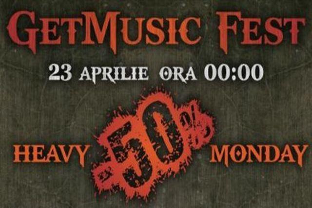 Heavy Monday - zeci de albume la jumatate de pret, doar pe getmusic.ro!