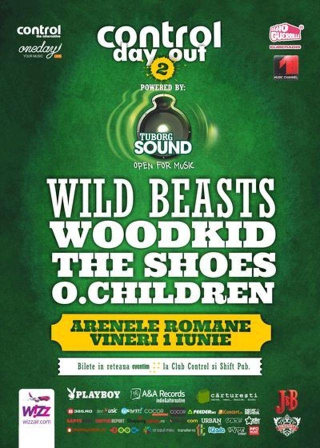 Wild Beasts canta la Control Day Out pe 1 iunie la Arenele Romane