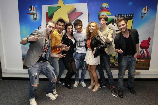 Poze Dima la ProFM