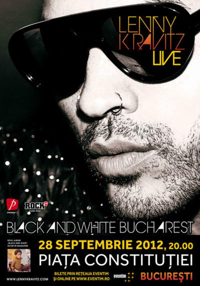 Lenny Kravitz revine pe 28 septembrie la Bucuresti