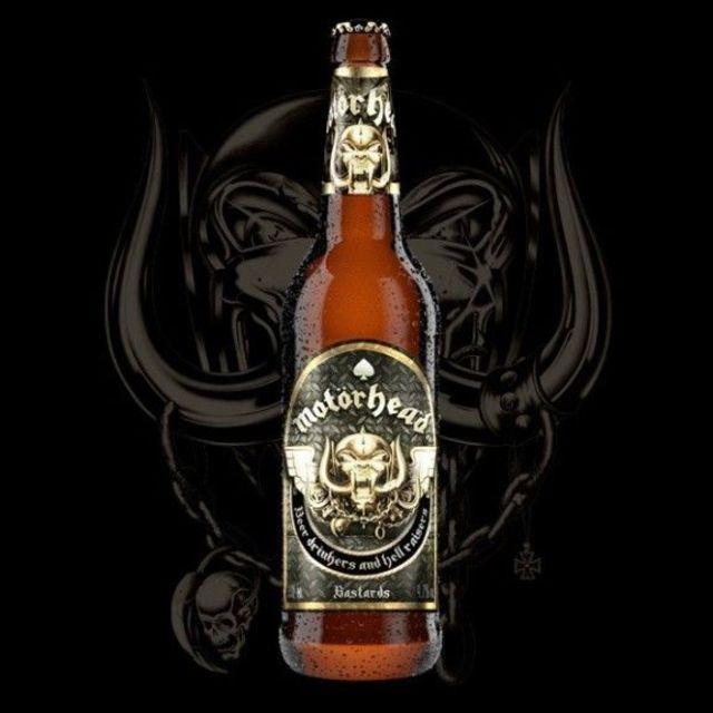 Motorhead au lansat o marca de bere