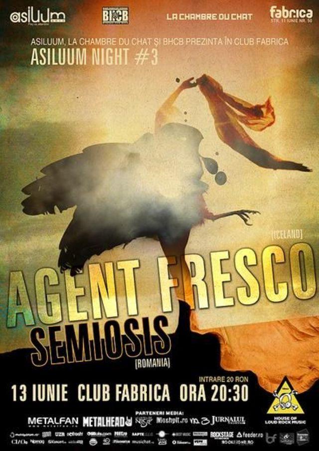 Agent Fresco in Fabrica: melancolie, energie si entuziasm nordic (cronica concert)