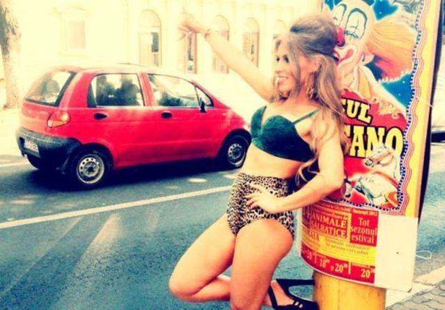 Corina lanseaza videoclipul A Ta (poze filmari)