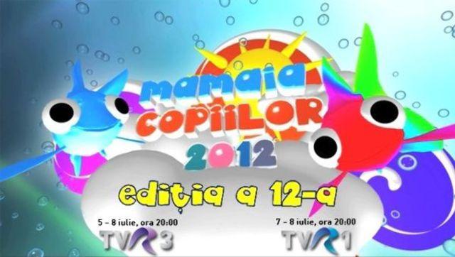 """Publicul acorda premiul de popularitate la Festivalul """"Mamaia Copiilor"""""""