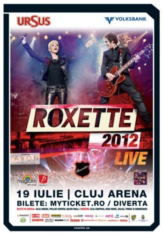 Concurs incheiat: Castiga invitatii la concertul Roxette de la Cluj