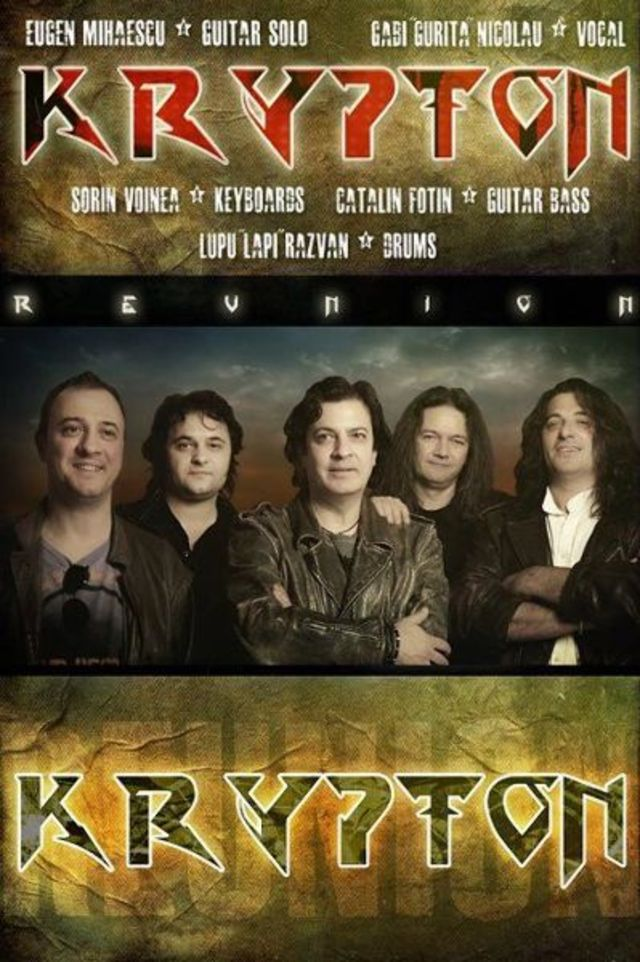 Krypton Reunion, Targ3t si Shifting Sands in recital la Posada Rock 2012