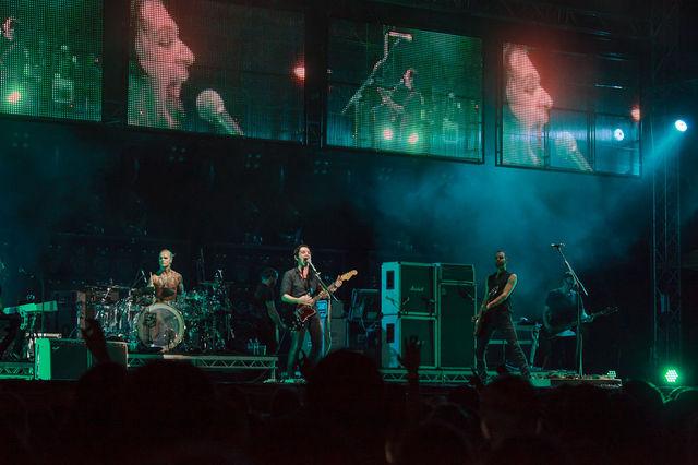 Poze concert Placebo, Bucuresti 2012