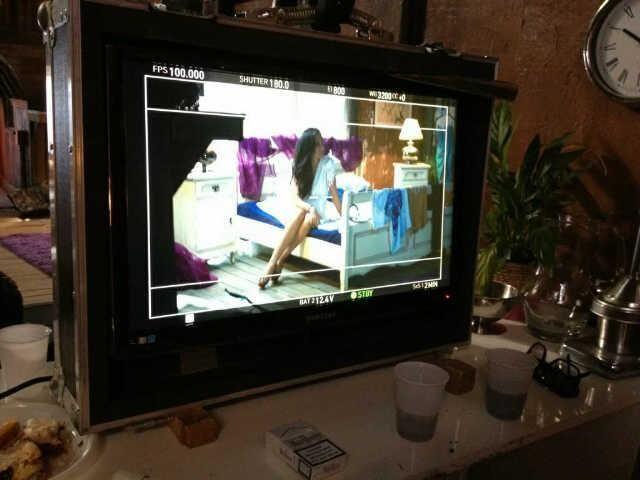 filmare clip Andra