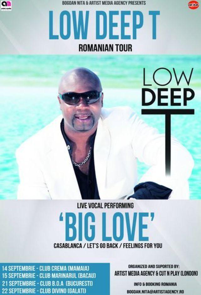 Low Deep T va sustine un turneu in Romania