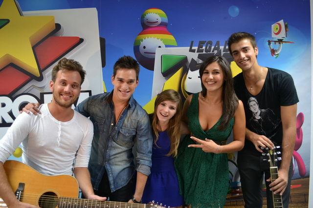 poze LaLa Band la ProFM