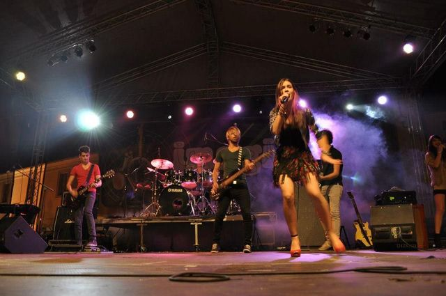 Poze concert Lala Band - Sibiu