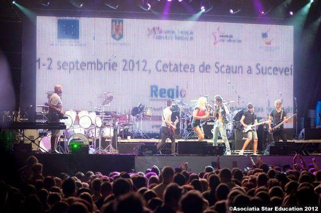 Poze concert Lala Band - Sighisoara si Suceava