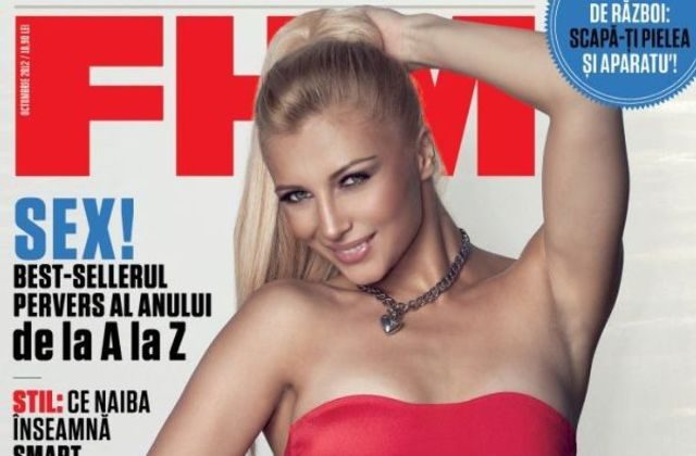 Lora, sexy in FHM (poze, video)
