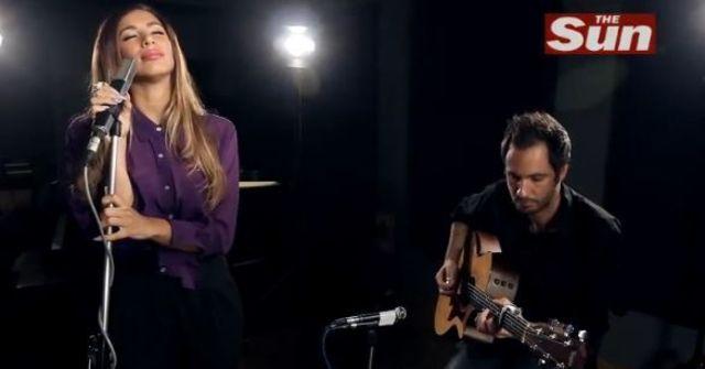 "Leona Lewis a facut un cover dupa Alex Clare - ""Too Close"" (video)"