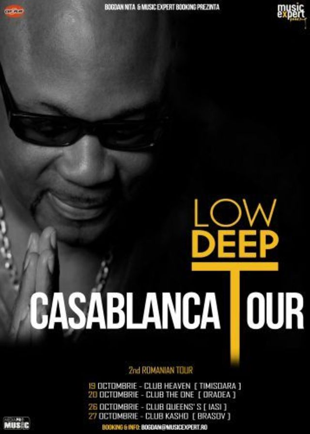 Low Deep T revine in Romania pentru un mini-turneu