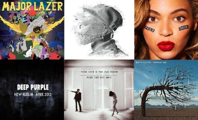 13 pentru 2013: Cele mai asteptate albume straine ale anului