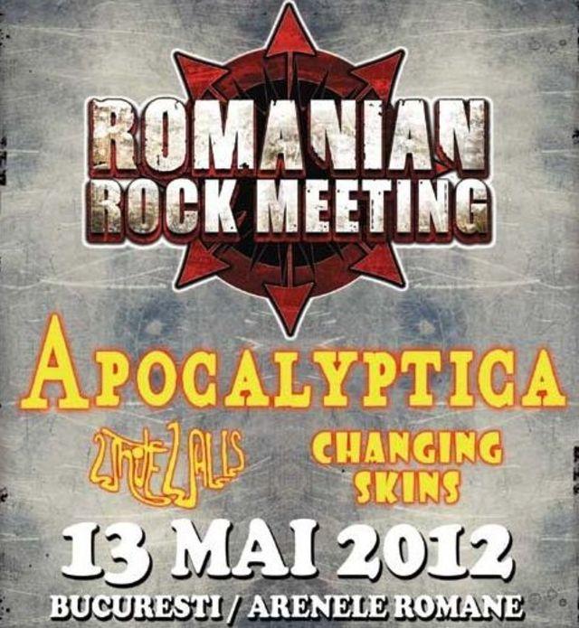 Apocalyptica – Making ofsi concert, vineri seara la TVR 2