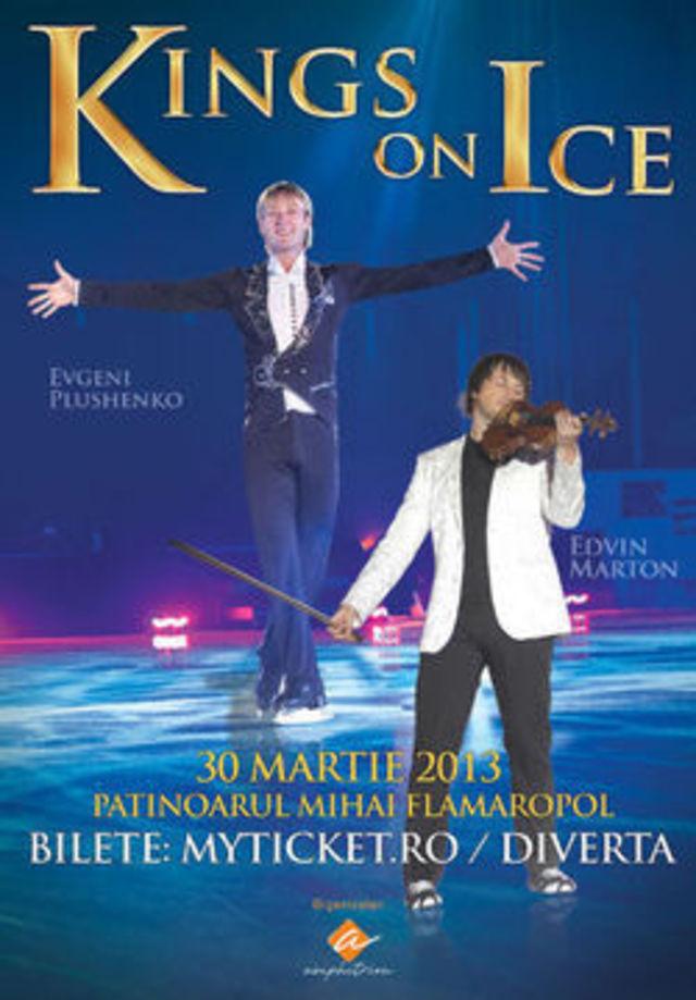 Spectacolul Kings On Ice se reprogrameaza pentru anul viitor