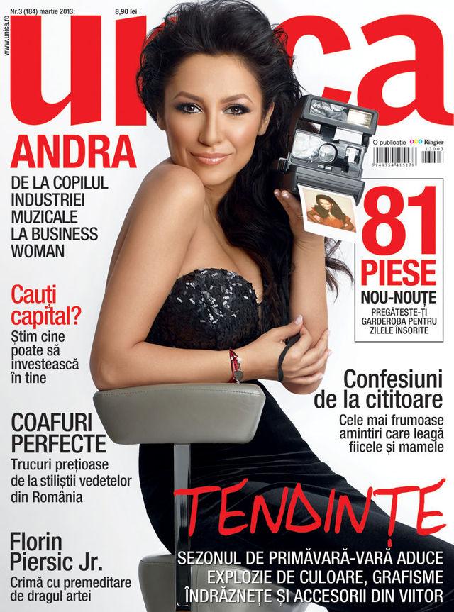 Andra in revista Unica