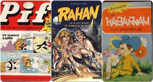 Eroi din benzi desenate cu care am crescut