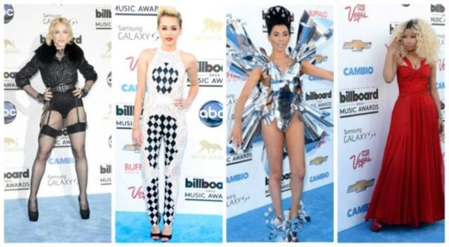 Vedete bine / prost imbracate la Billboard 2013 (poze)