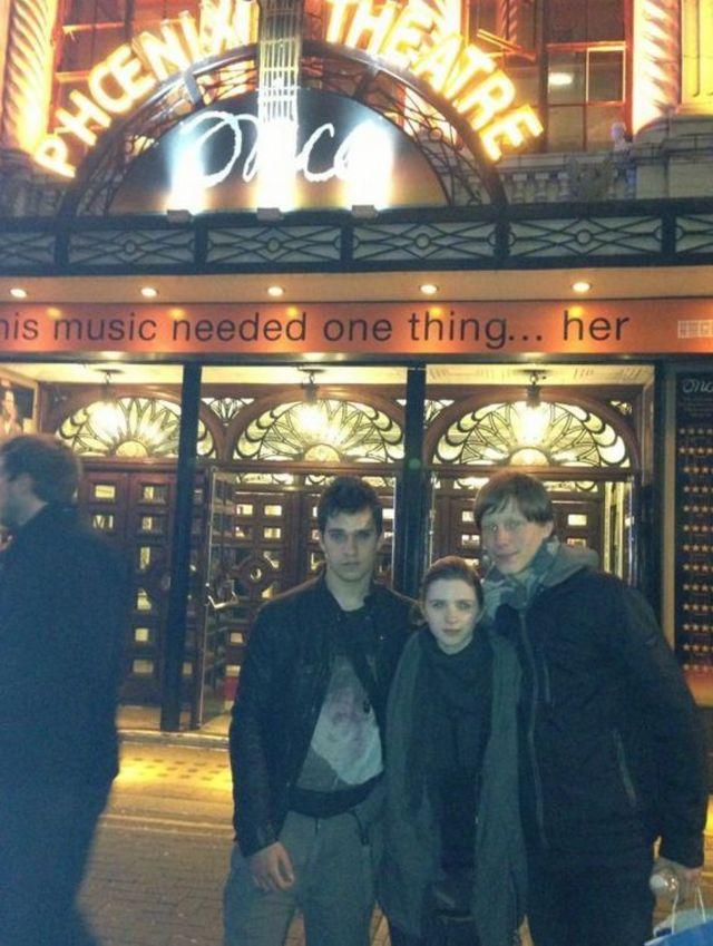 Criss si Vlad (LaLa Band) la Londra