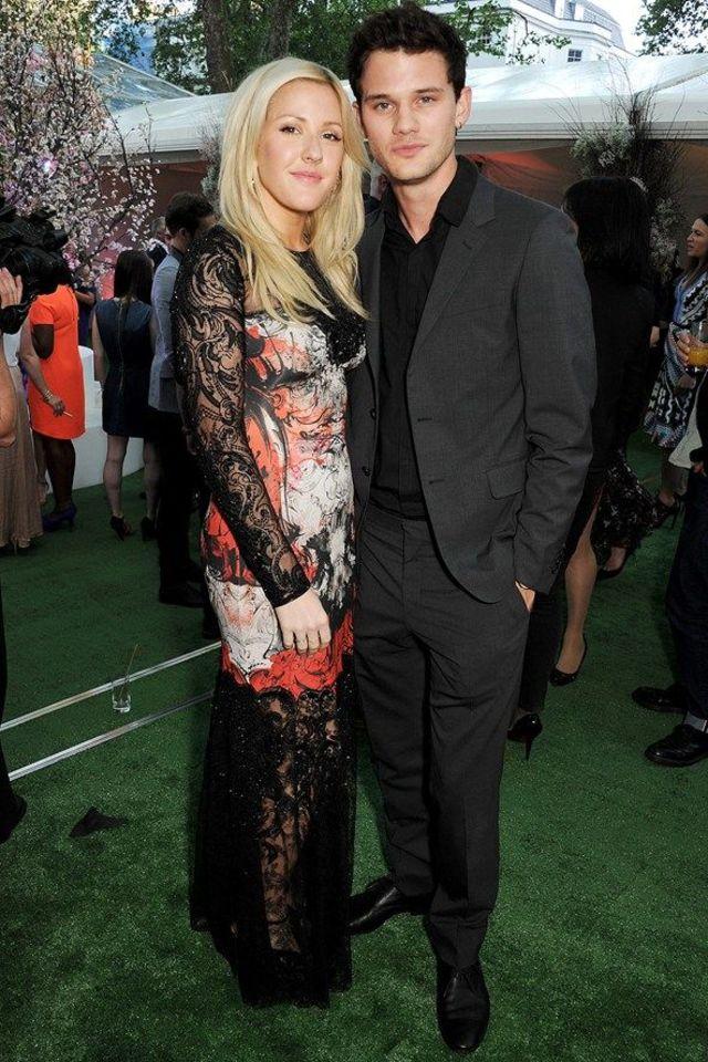 Ellie Goulding si Jeremy Ervine