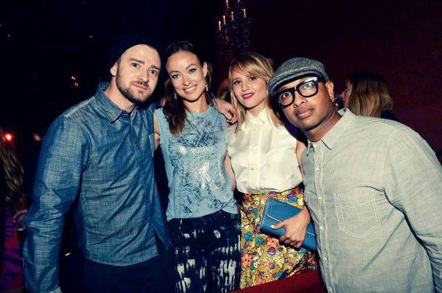 Justin Timberlake, Olivia Wilde, Dianna Agron si Kenna
