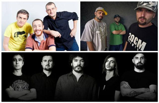 Parazitii, VDV, Suie Paparude si multi altii, la seria de concerte Zilele Prieteniei