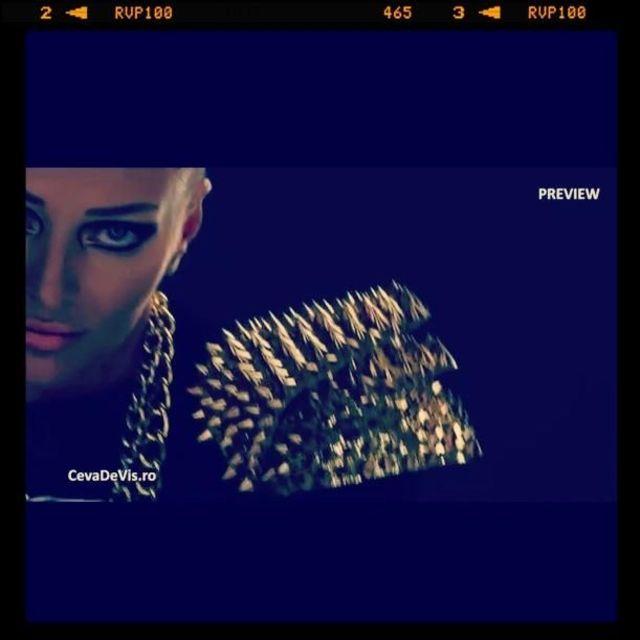 Delia - U (poze filmari videoclip)