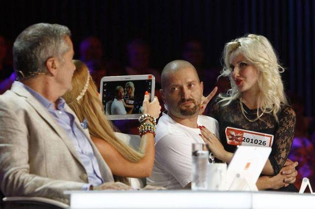 X Factor: Cheloo, cerut in casatorie la auditii (video)