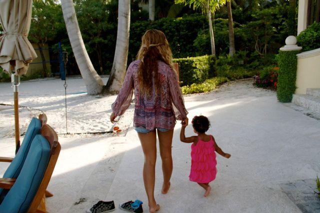 Beyonce, vacanta in Florida