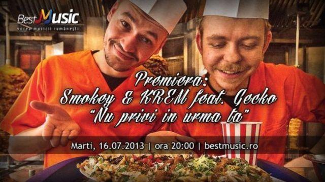 Premiera Bestmusic.ro | Smokey & Krem feat. Gecko - Nu privi in urma ta
