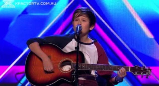 Un pusti de 14 ani a facut senzatie la auditiile X Factor Australia (video)