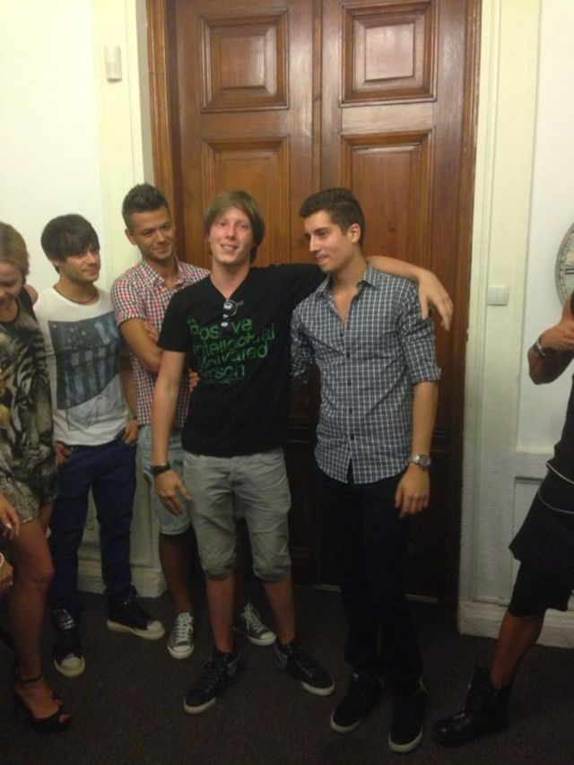 Petrecere surpriza pentru Bubu din LaLa Band