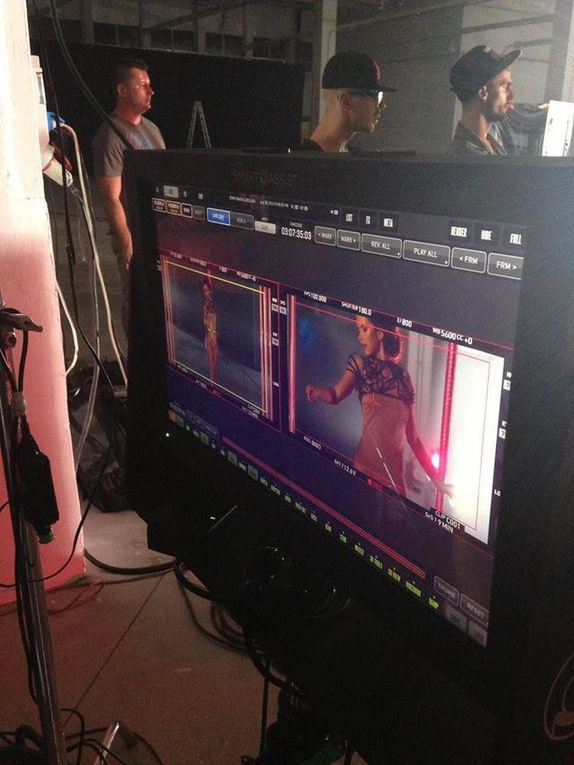 Poze filmari videoclip