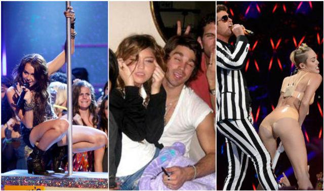 Miley Cyrus: cele mai controversate momente